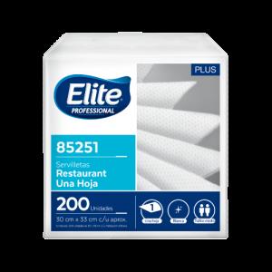 Servilleta Restaurant Mesa Elite H/S 30X33Cm 200H Caja 12U