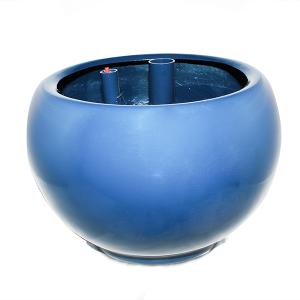 Maceta Escritorio Modelo Tokio Color Azul
