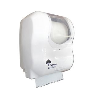 Dispensador Toalla Autocorte Essence Blanco Copreser