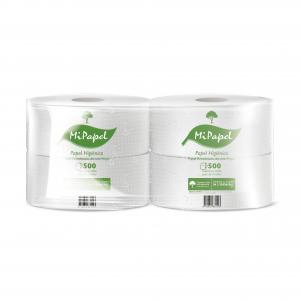 Higiénico 500M H/S 4U Mipapel
