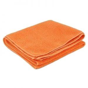 Paño Microfibra Naranjo 30X40Cm