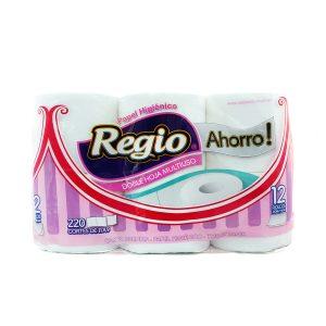 Higienico Regio Ahorro D/H 48u Bolsón