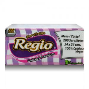 Servilleta 24X24 Regio (Rosa) 200U