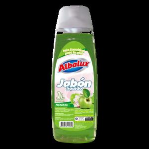 Jabón Liquido Albalux 1L Manzana 1U