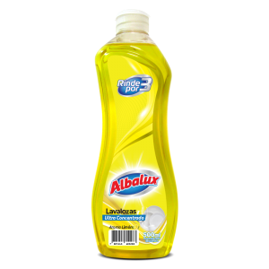 Lavalozas Ultra Concentrado Albalux Limon 500Ml 1U