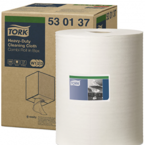 Heavy-Duty Cleaning Cloth Tork 38X32Cm 280H Caja 1U
