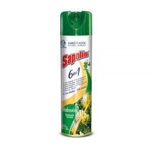 Desodorante Ambiental 6 en 1 Sapolio, Madreselva