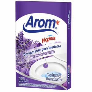 Desodorante Para Inodoros Arom, Jardín De Lavanda